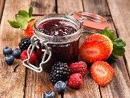 Рецепта Мармалад от горски плодове - ягоди, къпини, малини и боровинки